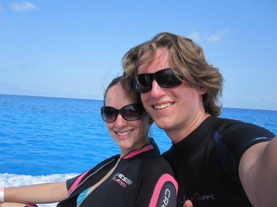 Scuba Gamma Diving Center: Me and my wonderful wife Elizabeth