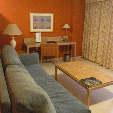 Hotel Jardines del Turia: リビング