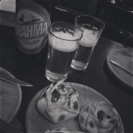 Romario: Empanadas y cerveza Brahma!!! Tooopppp