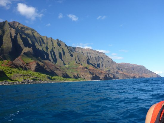 napali coast from the zodiac picture of north shore. Black Bedroom Furniture Sets. Home Design Ideas