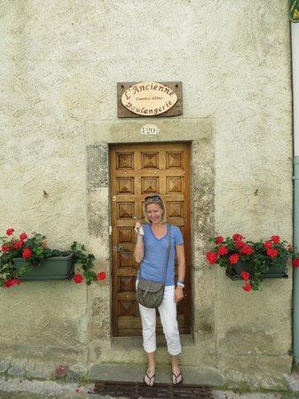 L'Ancienne Boulangerie: Door