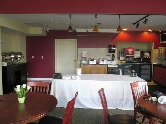BEST WESTERN PLUS Franklin Square Inn Troy/Albany: Breakfast Area