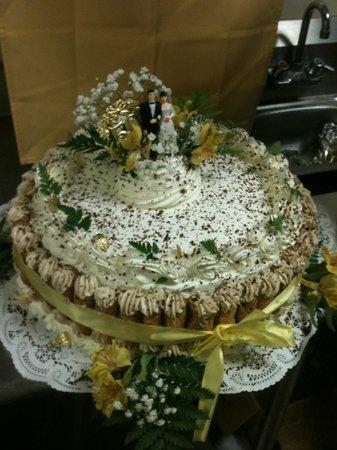 Juniper's Restaurant: One of Phils cakes