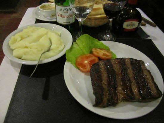 El Gaucho : My meal