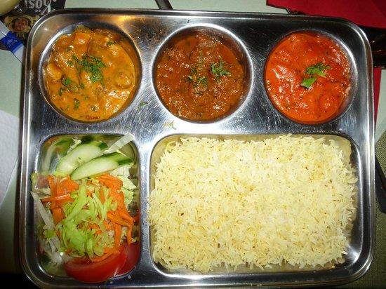 Pooja : Das Essen sieht gut aus, lässt aber geschmacklich sehr zu wünschen übrig
