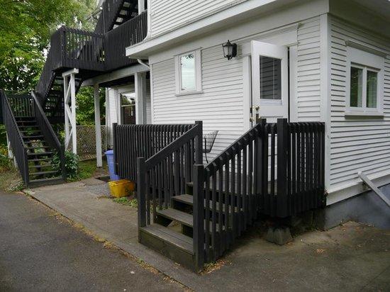 Evermore Guesthouse: Tür zu unserer Suite
