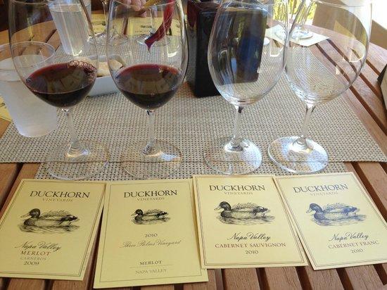 Duckhorn Vineyards: Wine Tasting