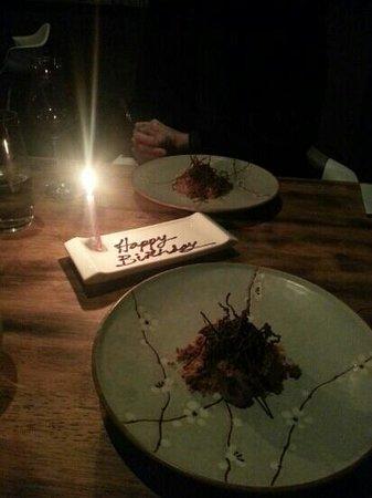 Restaurant Amuse: last desert! it was divine!