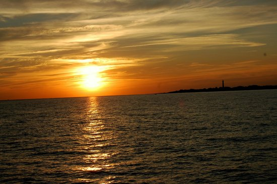 Spirit of Cape May: awesome sunset views