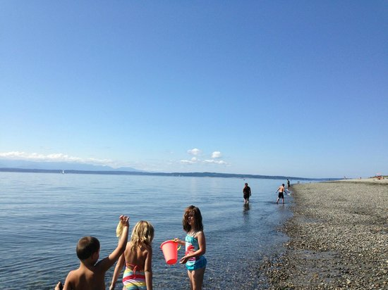 Golden Gardens Park: Golden Gate Beach