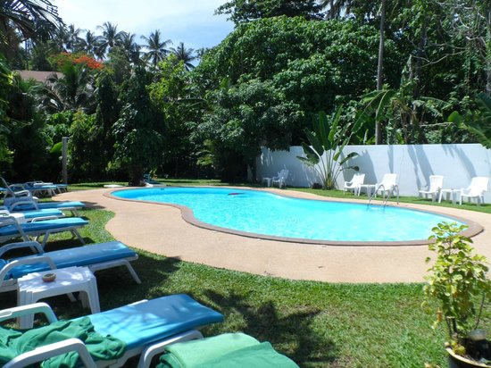 Kata Villa: Pool area