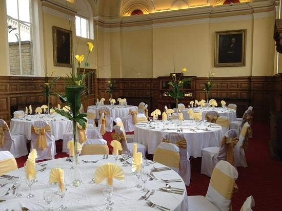 Council Chamber Dinner Picture Of Dewsbury Town Hall Dewsbury