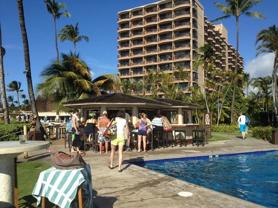 Royal Lahaina Resort Pool Bar
