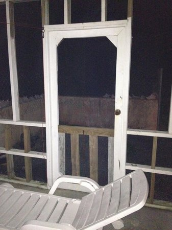 Captain Ron's Hideaway : Porch
