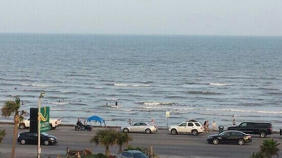 Quality Inn & Suites Beachfront: view from room 420