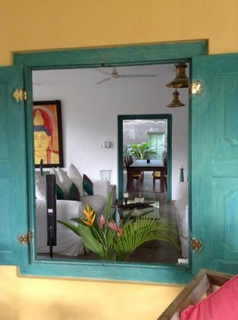 The Last House: view through the living room