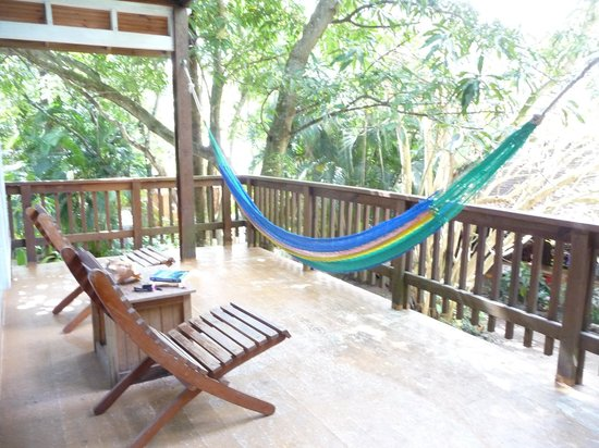 Georphi's Tropical Hideaway: Loved my hammock and deck with view...peace!!!