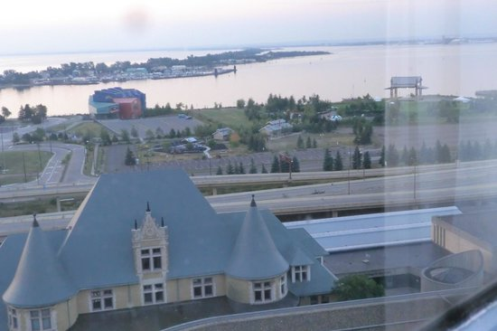 Radisson Hotel Duluth Harborview As Seen From Room 114