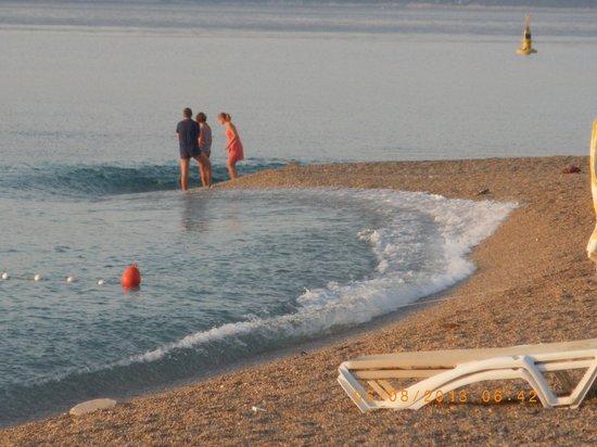 Bluesun Resort Bonaca: Super Wellen