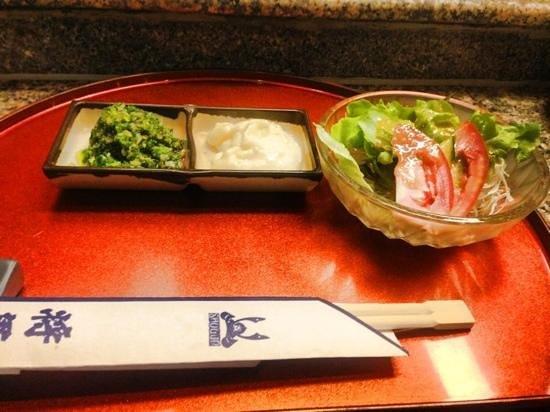 Shogun Restaurant: Set menu