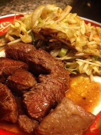 Shogun Restaurant: beef