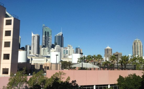 Ovolo 1888 Darling Harbour: View from level 3 Queen room.