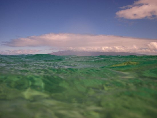 Ka'anapali Beach: A different view of the water