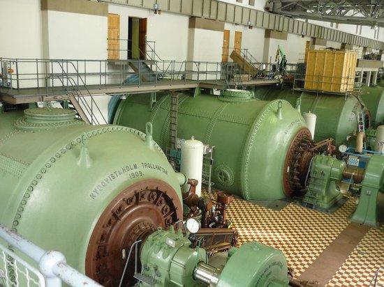 Trollhätte Kanal: В машинном зале электростанции