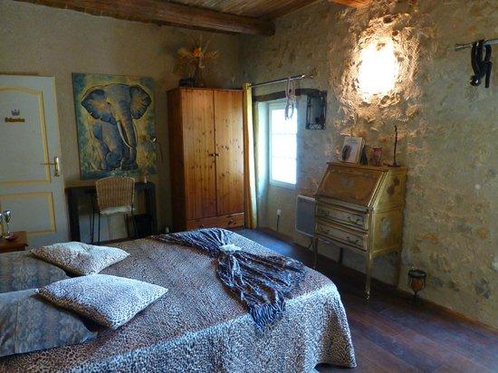 Réal Plantain : chambre Hélianthe