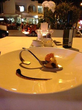 Peppermill Fusion Grill: комплимент от шеф повара