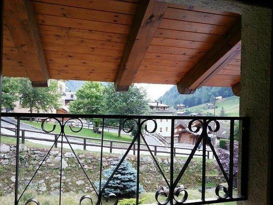 Hotel Alpenrose: vista dalla camera