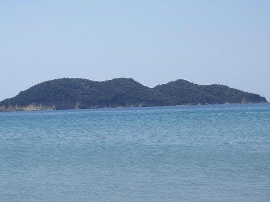 Dafni Beach: Kalonisi island