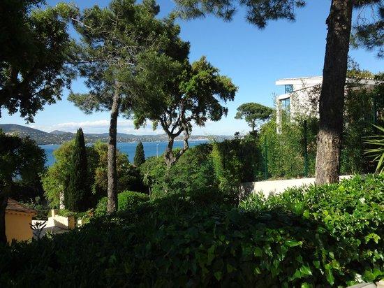 La Bastide d'Antoine : Aussicht vom Hotel
