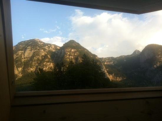 Landhaus Osborne: view from the room.