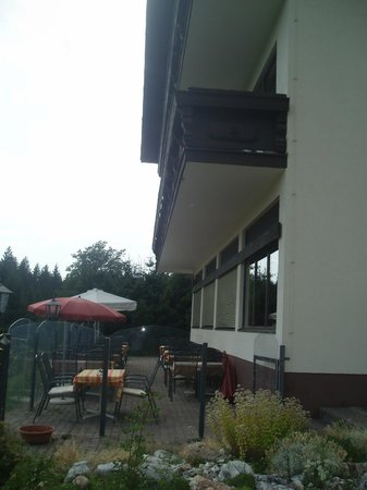 Panorama Berghotel: the terrace