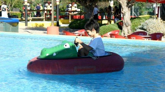 Karting Almancil Fun Park: Water kart for under 6 years old kids