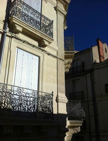 Hotel d'Aragon: façade