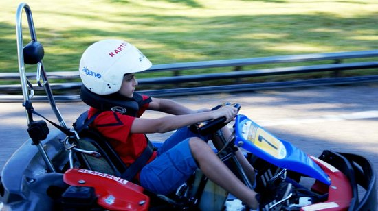 Karting Almancil Fun Park: 6-12 year old karts