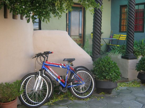 Villa Ocean Crest Guesthouse and B&B : Free Cycle's to enjoy the area