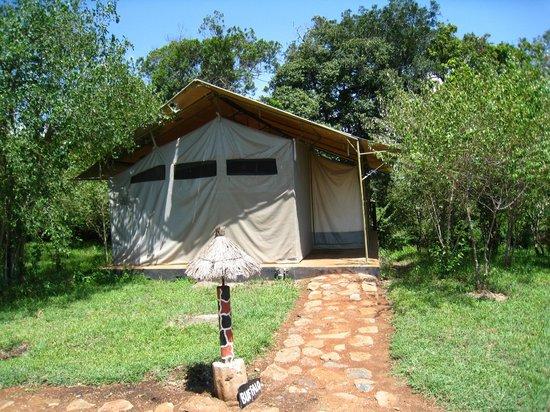 Olumara Camp: tente Bufalo