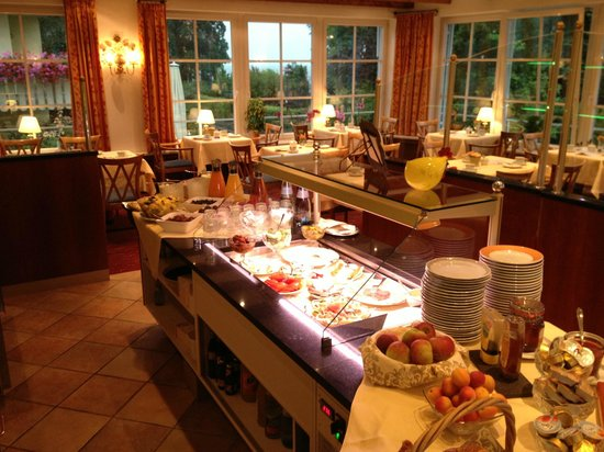 Hotel Seeperle: Frühstücksraum und Speisesaal