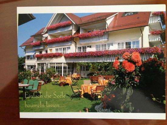 Hotel Seeperle: Hotelgarten