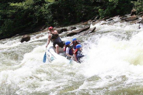 Cherokee Rafting : Our Cherokee guide - Big John