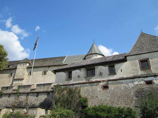 Hochosterwitz Castle (Burg Hochosterwitz): panoramica
