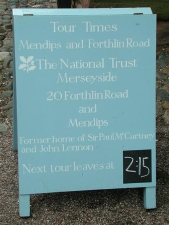 20 Forthlin Road - McCartney Home: Natinonal Trust