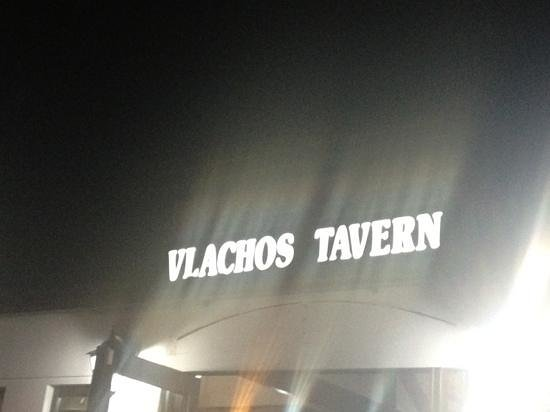 Vlachos Tavern: at night
