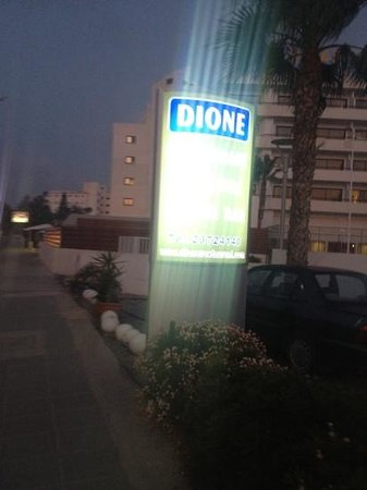 Dione Restaurant: outside view