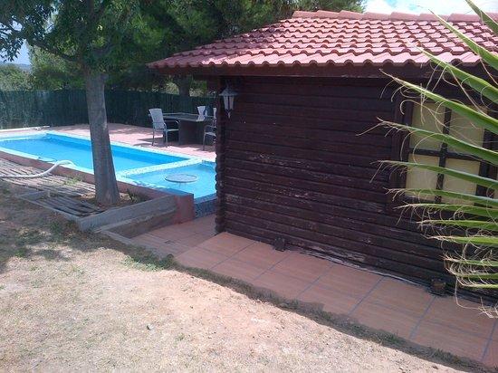 Riudoms, España: piscina actual