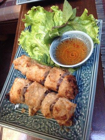 Lao Siam: Pâtés impériaux