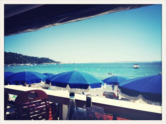 Les Canetons: View from the restaurant